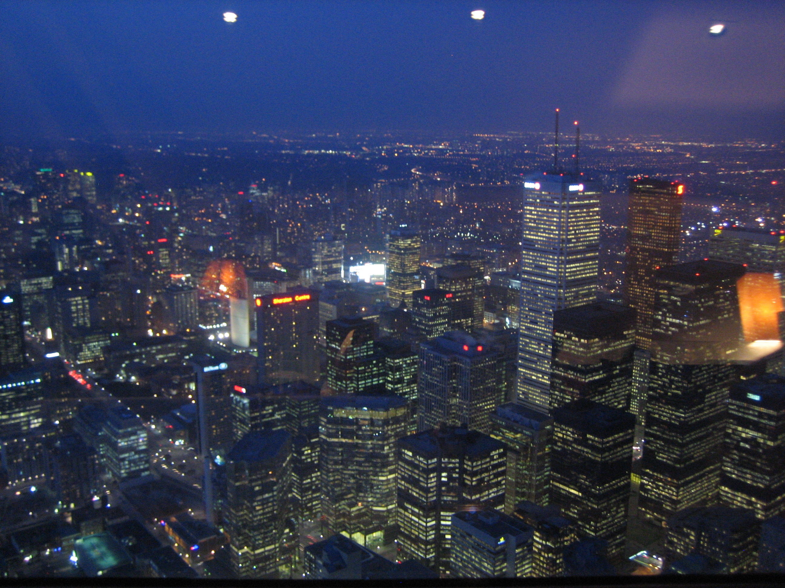 Toronto - From the 360 restaurant on top of the CN tower