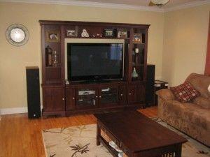 living room entertainment unit