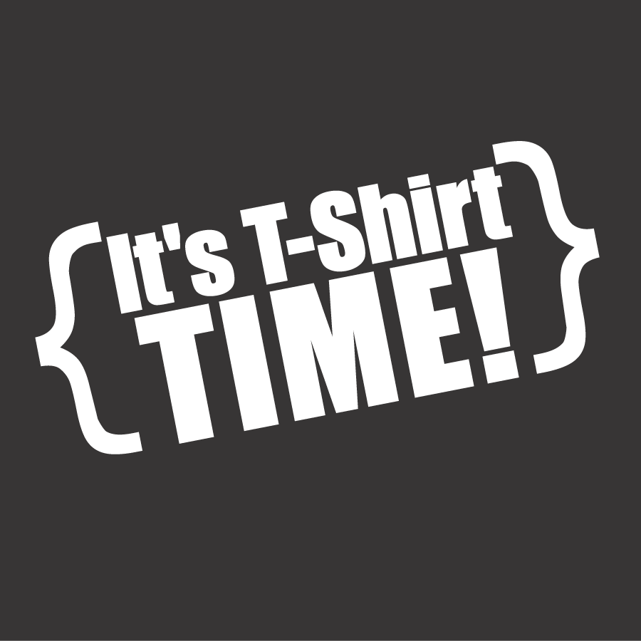 It's T-shirt time