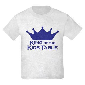 King of the Kids Table