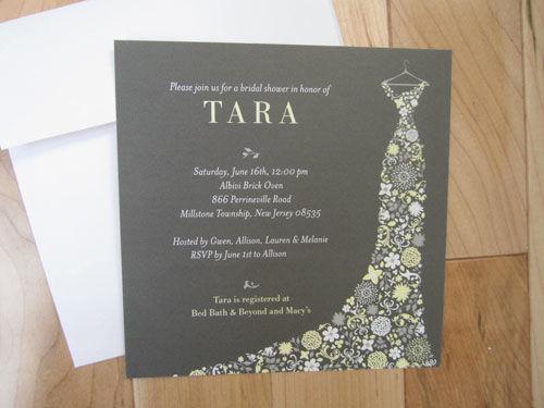 Scrabble Themed Bridal Shower