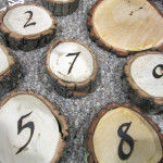 DIY Rustic Table Numbers Tutorial