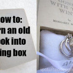 DIY: How to Turn an Old Book Into a Ring Box