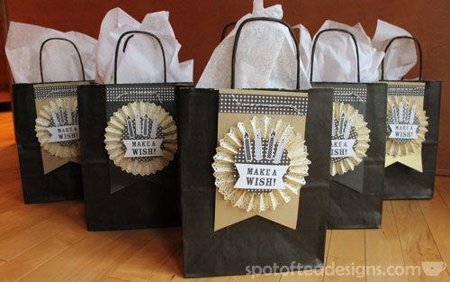 Use Your Stash Challenge Birthday Gift Bag Tags