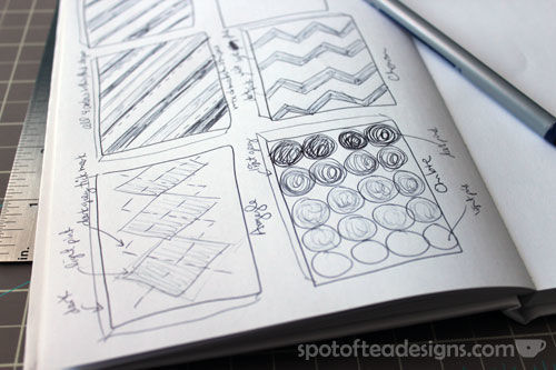 Nursery Canvas Art Sketches - spotofteadesigns.com
