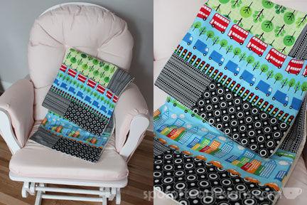 Handmade Baby Quilt  | spotofteadesigns.com