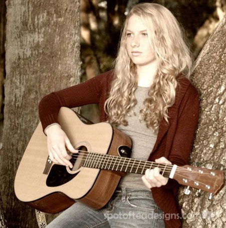Musician Sophie Price | Spotofteadesigns.com