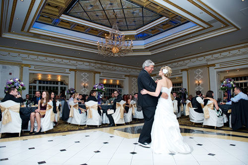 Adelphia NJ Wedding Reception | spotofteadesigns.com