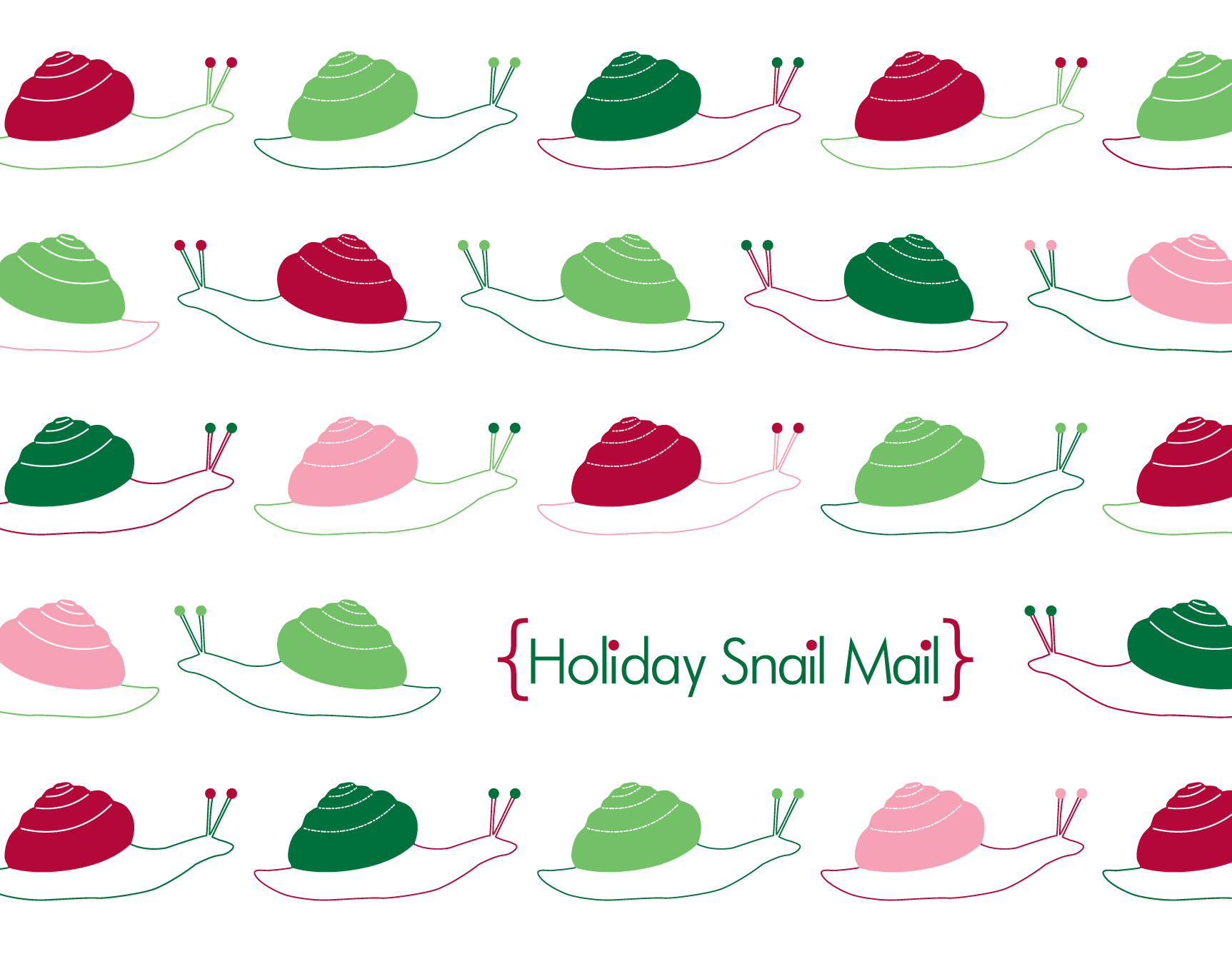 Holiday Snail Mail