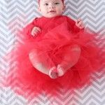 Christmas Photo Shoot and DIY Baby Tutu Tutorial