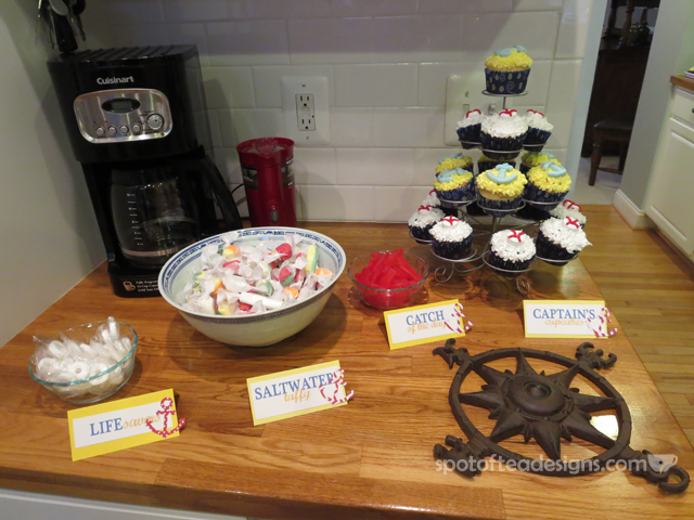 Ahoy, It's A Boy Nautical Baby Shower {Guest Post}