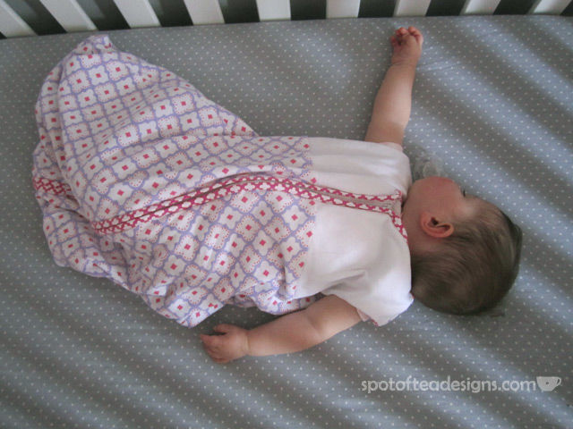 HALO SleepSack from pottery barn kids | spotofteadesigns.com