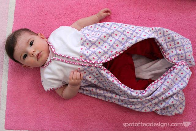 HALO SleepSack from pottery barn kids | spotofteadesigns.com