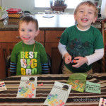 St. Patricks Day Rainbow Kids Crafts {FREE PRINTABLE}