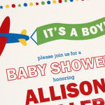 Transportation Themed Baby Boy Shower