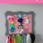Brielle's Nursery: DIY Headband Holder