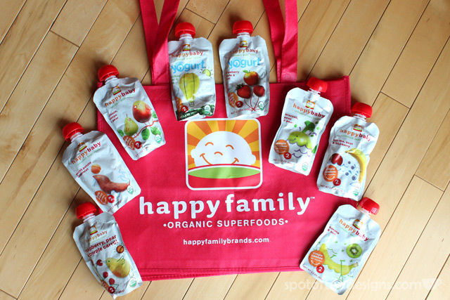 Happy Baby Organic Food Pouches | spotofteadesigns.com