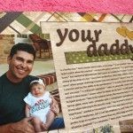 Scrapbooking… About Dad!