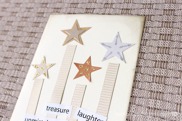 Handmade Card using stars and stripes theme | spotofteadesigns.com