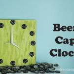 Father's Day Gift: Beer Cap Clock
