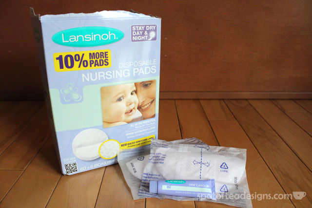 Lansinoh Breastfeeding Thearapies | spotofteadesigns.com