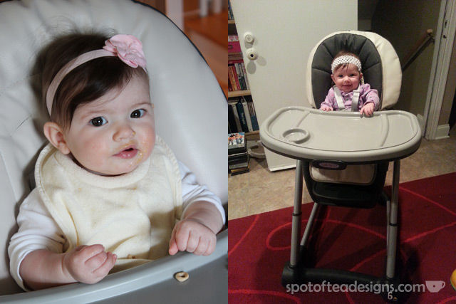 Top Ten Favorite Baby Items five months to one year: highchair | spotofteadesigns.com