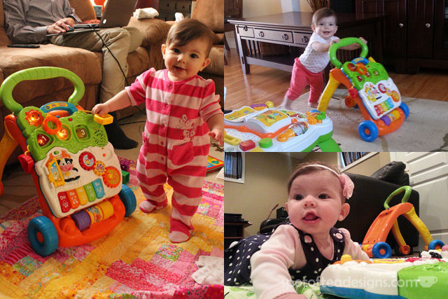 Top 10 Favorite baby Items five months to 1 year: vtech walker | spotofteadesigns.com