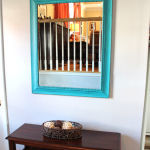 Entry Mirror Makeover with Deco Art Americana Decor Paint
