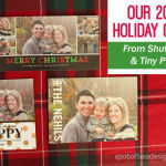 Our Holiday Cards from Shutterfly