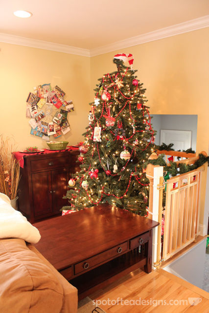 #Christmas Home Tour with Spotofteadesigns.com (toddler proofed tree zone)