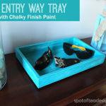 DIY Entry Way Tray