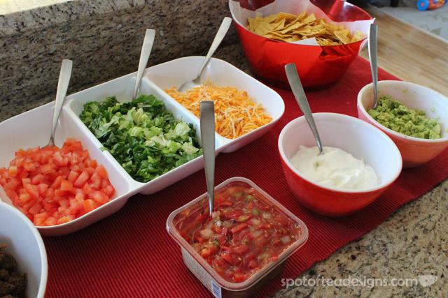 Group Dinner Idea: Tips For A Great Taco Bar | Spot of Tea ...