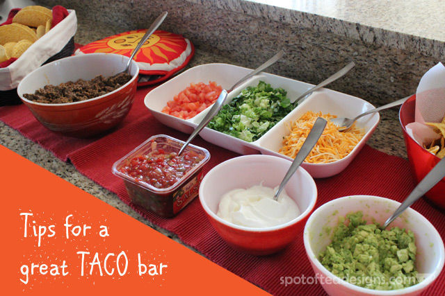 Group Dinner Idea: Tips For A Great Taco Bar