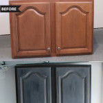 Garage Cabinet Makeover with Deco Art