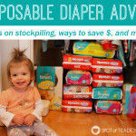 Unsolicited Disposable Diaper Advice