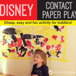 Disney Contact Paper Play