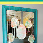Kids Craft: Easter Egg Garland