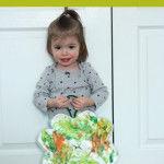 St. Patrick's Day Toddler Fingerpaint Craft
