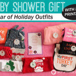 Baby Shower Gift: Year of Holiday Outfits {FREE PRINTABLE}