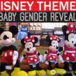 Disney Baby Gender Reveal