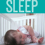 Tips to get your baby to sleep plus a baby registry MUST!