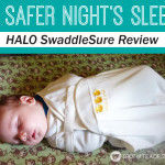SwaddleSure by HALO Review and GIVEAWAY #sponsored [CLOSED]