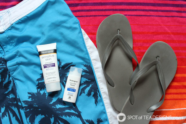 Why I #ChooseSkinHealth this summer with @Neutrogena #IC #AD | spotofteadesigns.com