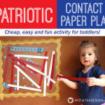Patriotic Contact Paper Play