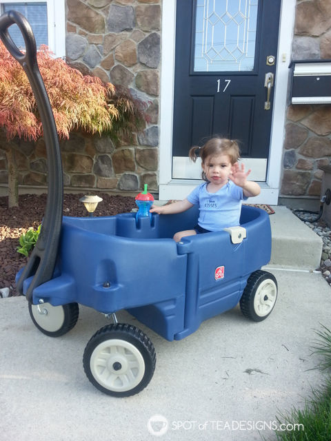 8 must have backyard toys for #toddlers - wagon | spotofteadesigns.com