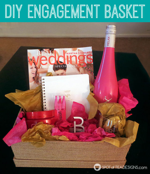 DIY Engagement Basket {GUEST POST}