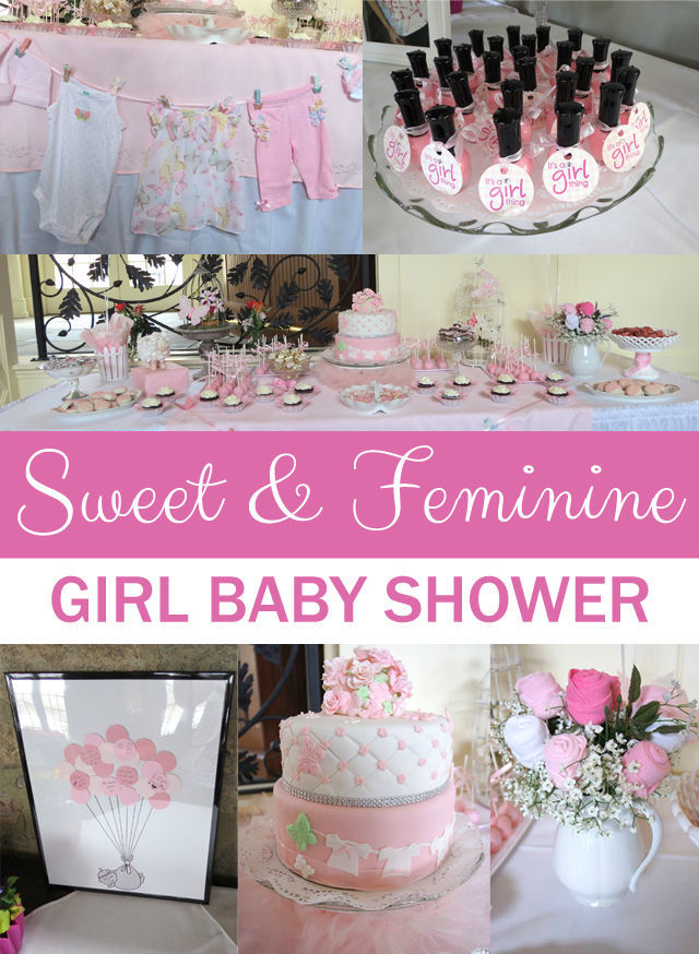 Sweet and Feminine Baby Shower {GUEST POST}