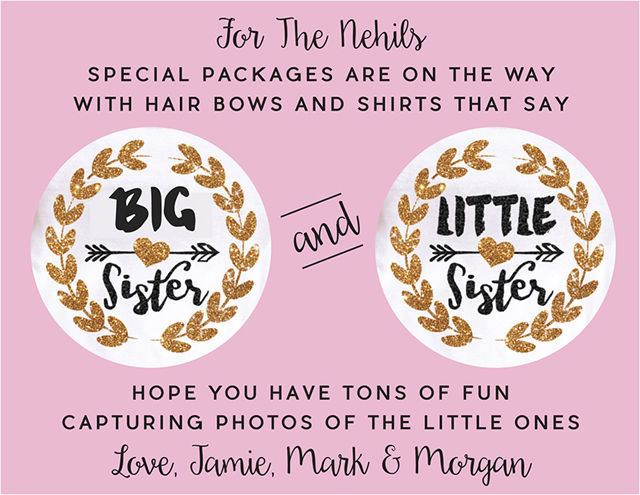 Big Sister and Little Sister Gifts from Etsy | spotofteadesigns.com