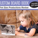 Custom Board Book from Pint Size Productions #sponsored
