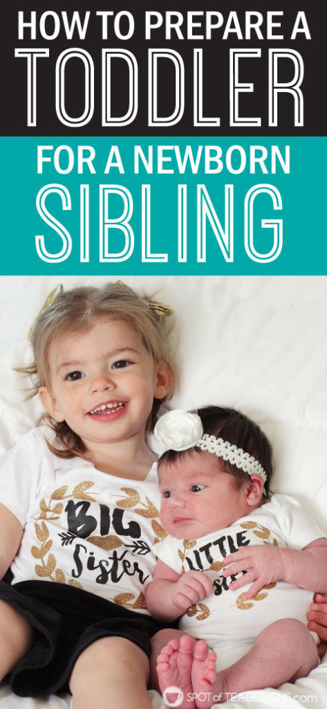 How to Prepare Your Toddler for a Sibling #parenting advice | spotofteadesigns.com